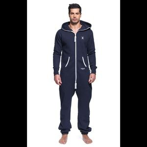 🌹Norwegian One Piece Mens Navy Blue Jumpsuit L